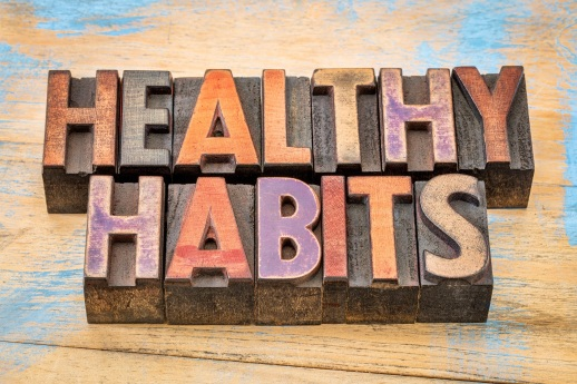Healthy Habits sign Dollarphotoclub_100560092
