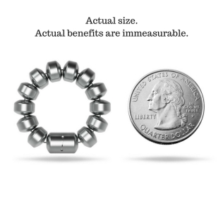 Actual size.Actual benefits are immeasurable.